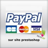 Intégration module Paypal pour carte bancaire