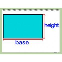 Module pour vente de produit au mètre carré