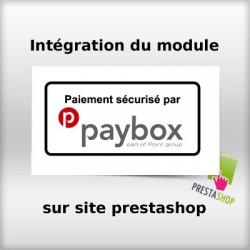 Intégration module paybox sur site prestashop