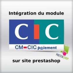 Intégration module cm-cic sur site prestashop