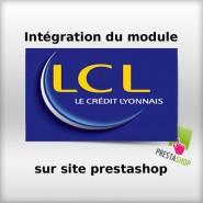 Intégration module Atos LCL sur site prestashop