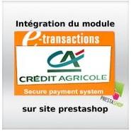 Intégration module Crédit Agricole sur site prestashop