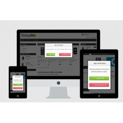 Intégration popup responsive sur site vitrine