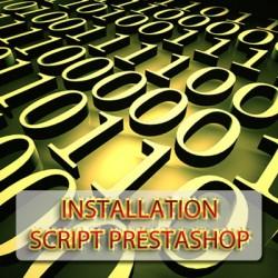 Installation script Prestashop